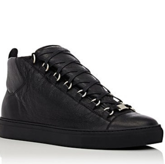 31c9b32e7443 Balenciaga Other - Balenciaga s Arena Leather high-top sneakers